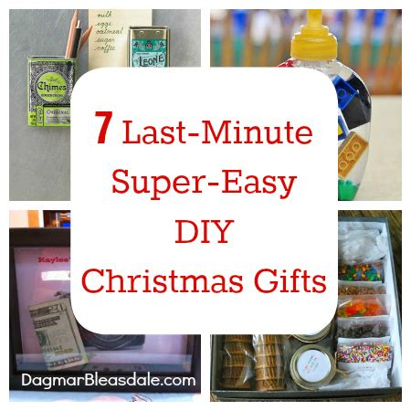 7 last minute super easy diy christmas gifts