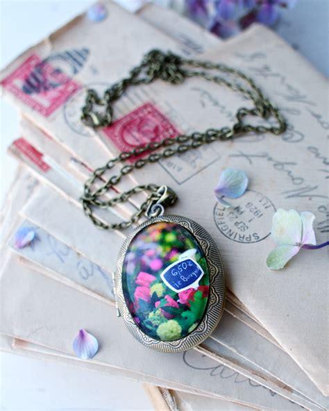 Handmade Canberra - flower locket by cate holst