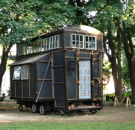 who builds houses couple s tiny house mansion was built entirely from