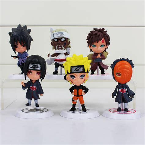 Figure 6pcs buy 6pcs set figures uzumaki itachi sasuke obito