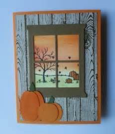 fall card using happy st set and hearth home