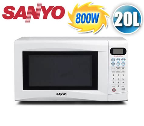 Sanyo Compact Microwave Oven sanyo 20 litre 800w compact electronic microwave oven