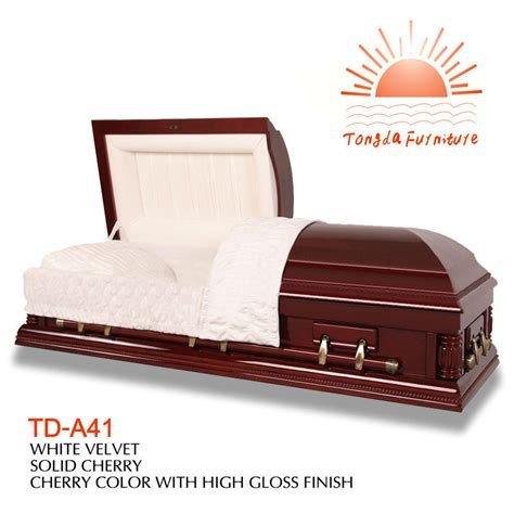 td a41 competitive american wooden wholesale casket