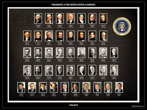 president s 1789 2015 all 44 presidents of the united states