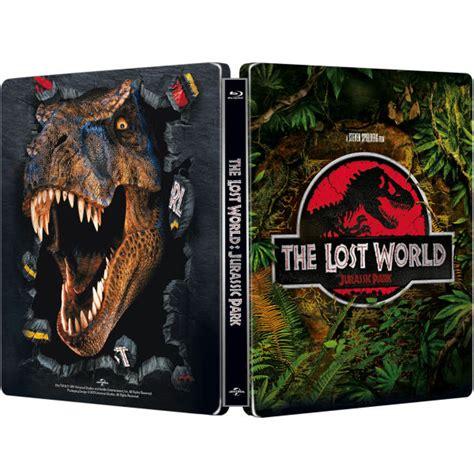 Ps4 World Steelbook Edition Reg 2 jurassic park the lost world zavvi exclusive limited