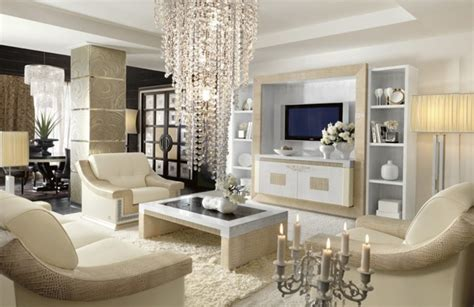 Livingroom Decoration living cu mobila alba amenajarea casei