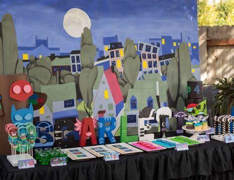 """PJ Masks / Birthday """"PJ Masks Birthday Party""""   Catch My Party"""