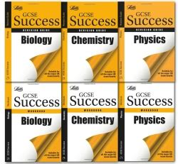letts gcse revision success letts gcse success workbooks and revision guides science 6 books collection set 9783200327856