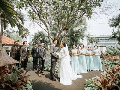wedding hyatt bandung villa the sanctuary bali wedding cita jake