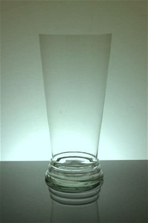 14 Glass Cylinder Vase by Pz 7014 Tapered Cylinder Vase 7 Quot X 14 Quot 6 P C Glass