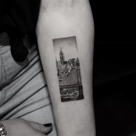 city line tattoo best 25 new york ideas on nyc