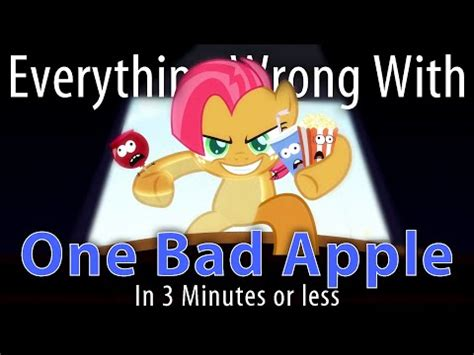 100 Memes In 3 Minutes - parody everything wrong with one bad apple in 3 minutes