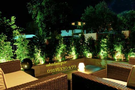 sohadesign ir نور پردازی محوطه نور پردازی دیوار سبز نور پردازی بام سبز