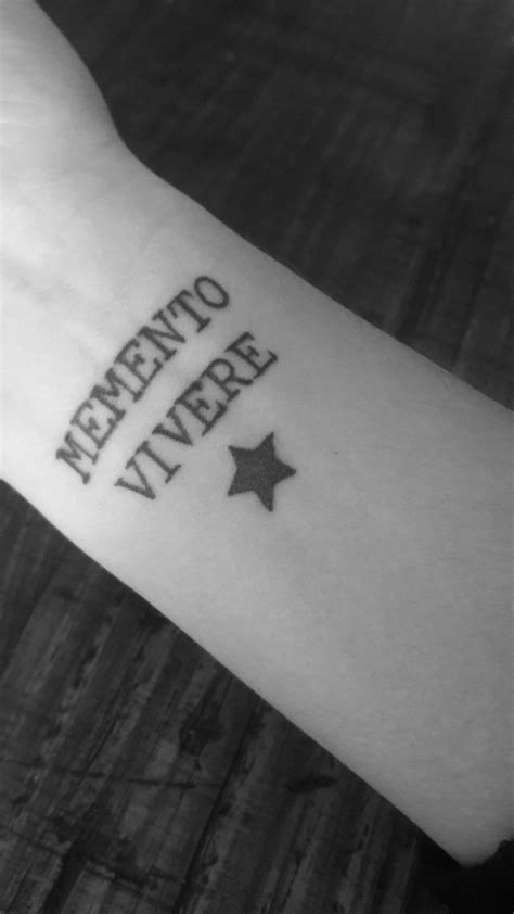 memento vivere tattoo 25 best ideas about memento vivere on