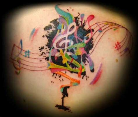 stars and music notes tattoos designs insights notes designs