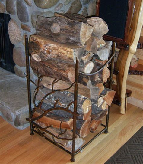 firewood holder refined rustic firewood holder urdezign lugar