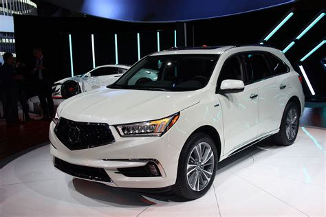 2020 Acura Mdx Detroit Auto Show by 2017 Acura Mdx Gains New Tech And Power 187 Autoguide