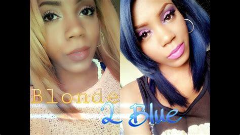 sapphire hair color to sapphire blue hair