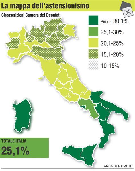 ministero interno votazioni risultati elezioni 2013 il partito degli astenuti