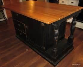 Black kitchen island furniture contemporary modern rustic kitchen