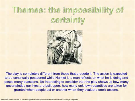 hamlet themes impossibility of certainty hamlet fpr