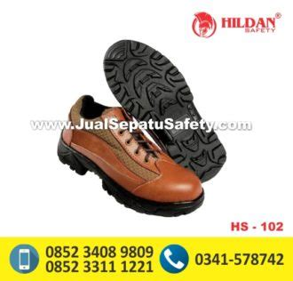 Sepatu Safety Warna Coklat hs 102 jual sepatu safety pendek warna coklat di jakarta jualsepatusafety