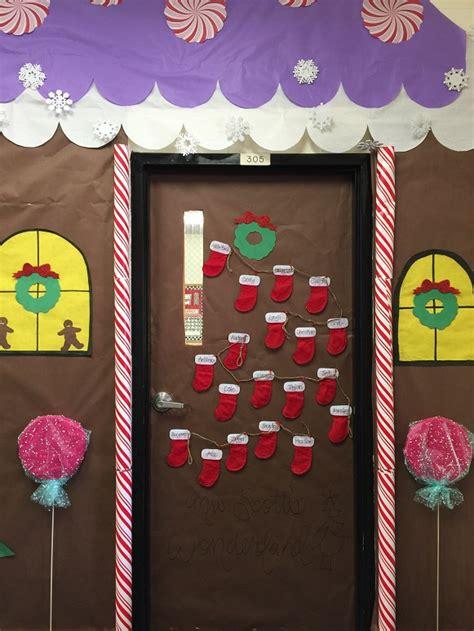 Gingerbread Door by Gingerbread House Classroom Door Decorations Archives