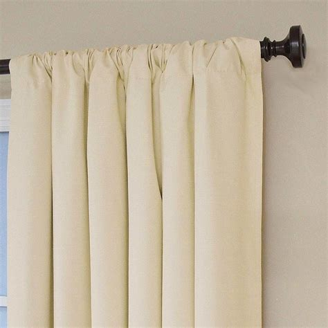 1pair Short Bedroom Curtains Black Window Shades Eyelets