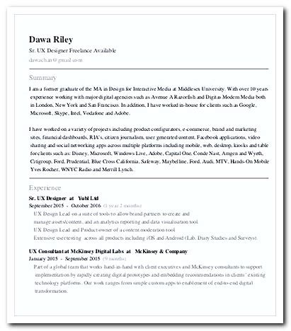 simple steps to write a ux designer cover letter