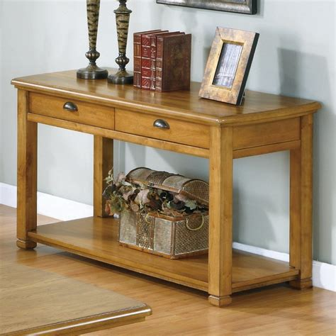 sofa table light oak sofa console table in light oak veneer with two drawers