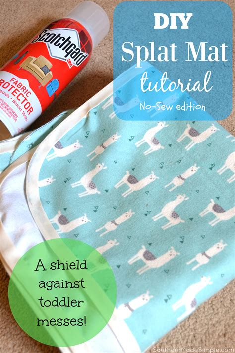 diy splat mat diy projects archives southern made simple