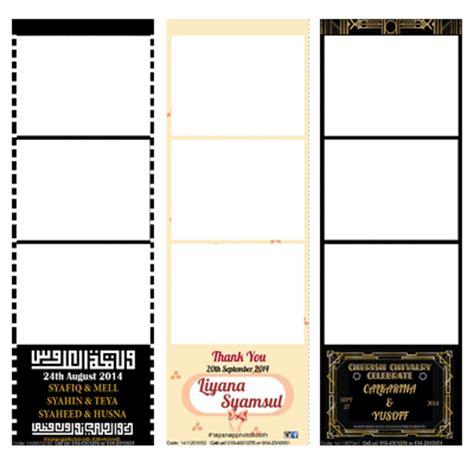 design photo strip custom photo strip design tapsnap photo booth