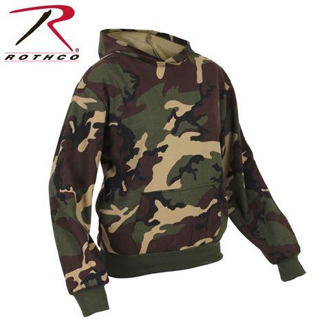 camo sweatshirts rothco camo pullover hooded sweatshirt