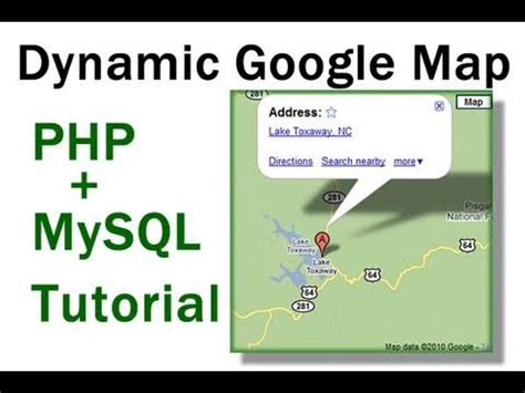 tutorial gammu php mysql dynamic google maps location tutorial for php mysql driven