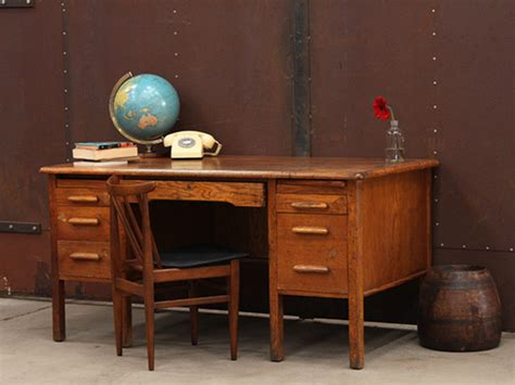 vintage oak office furniture wooden oak vintage office desk vintage tables desks