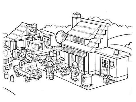 the gallery for gt lego city undercover coloring page