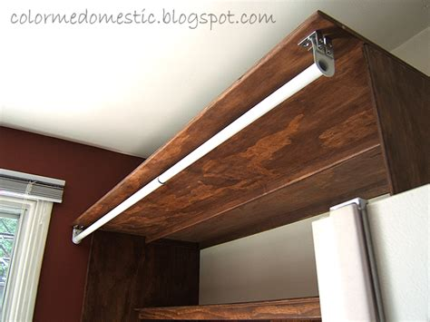 How To Hang A Closet Rod On An Angled Wall by Color Me Domestic Oh What Beautiful Shelves You