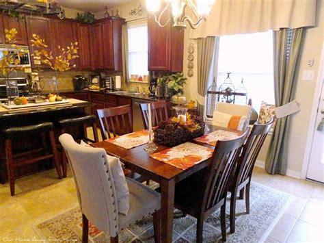 imagenes bonitas otoñales cocinas decoradas de girasoles