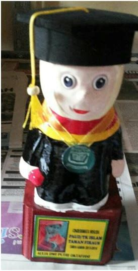 Boneka Wisuda Tk baju wisuda tk dan boneka wisuda home