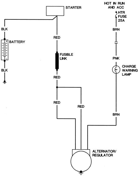 one wire alternator wiring diagram wiring diagram with