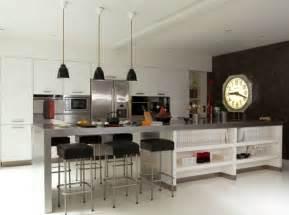 ilot de cuisine avec table cuisine avec ilot central et
