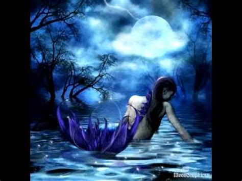 imagenes de sirenas oscuras sirena de amor agua marina youtube