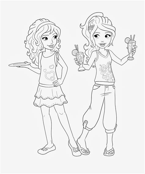 lego friends stephanie coloring pages lego friends stephanie colouring pages page 2 lego