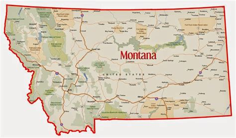 map usa montana where is montana state where is montana located in the us
