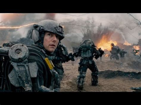 film tom cruise war edge of tomorrow 2014 trailers