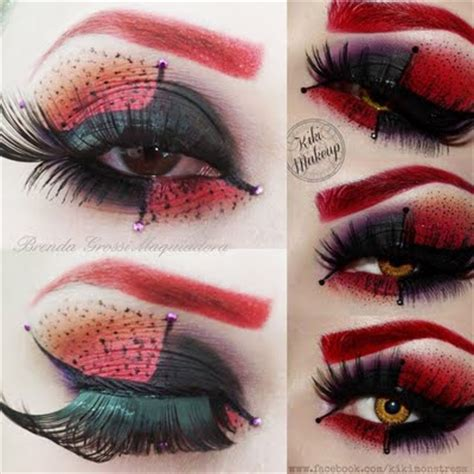 Lipstik Make Original harley quinn makeup kikimakeup inspired by brenda g preen me
