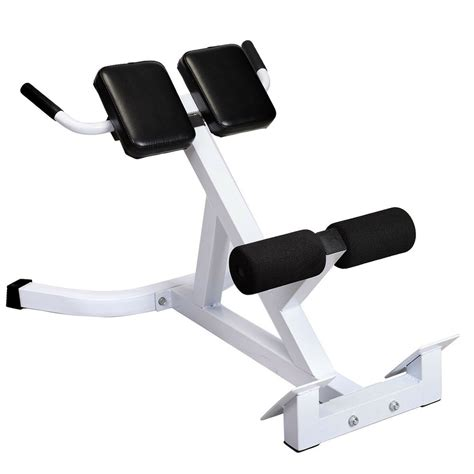 goplus extension hyperextension back exercise ab bench abdominal chair ebay