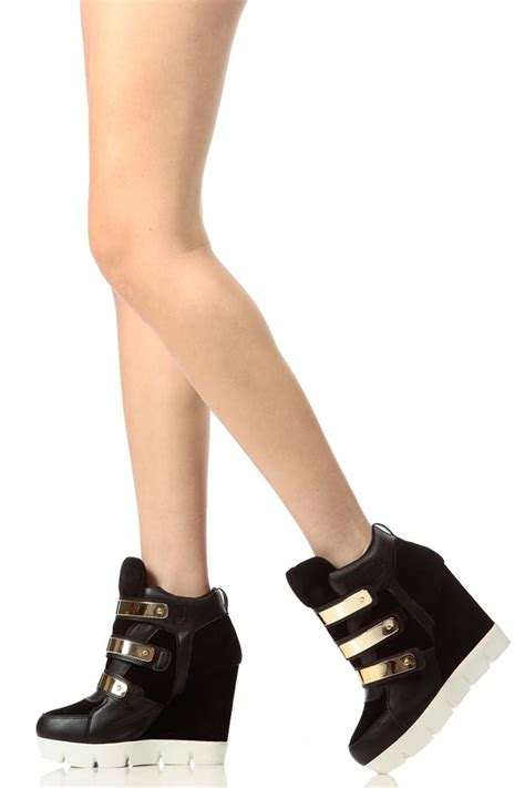 25 best ideas about wedge sneakers on