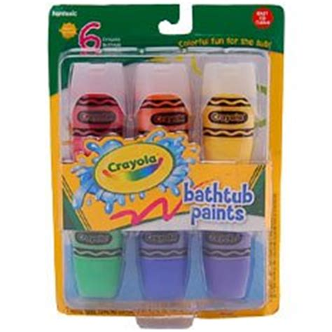 crayola bathtub paint amazon com crayola bathtub soap paints toys games