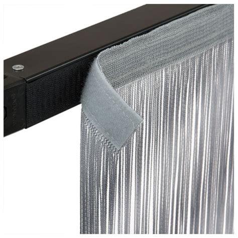 velcro curtains wentex pipe and drape string curtain 3m x 4m white